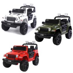 Rechargeable LT-598 Jeep Supercar Ride-on Toy Car
