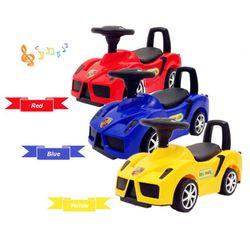 Ferrari Manual Ride-On Twist Toy Car