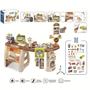 Kids Toddler Big Home Supermarket Toy Set