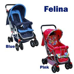 Giant Carrier Felina Reversible & Foldable Compact Baby Stroller