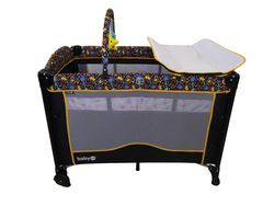 Baby 1st P-576C6 Portable Co-Sleeper Playpen with Rocking System