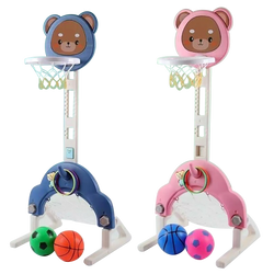 Adjustable Basketball Hoop Toy for Kids