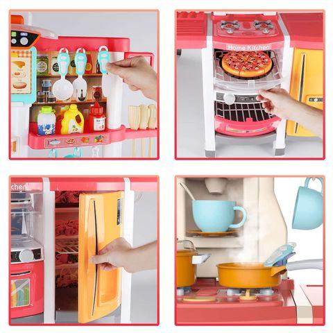 65 pcs. Spraying Mist Large Steam Kitchen Set Toy