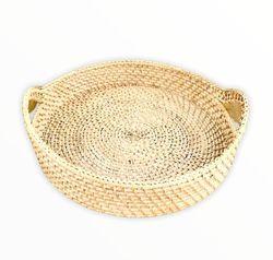 Manang.ph whitewashed round tray