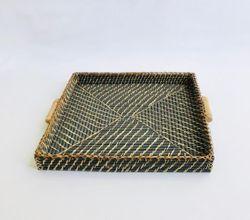 Manang.ph Blue Grey Large Square Tray