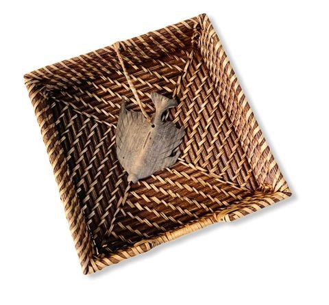 Manang.ph Napkin Holder with Wood Detail