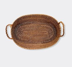 Manang.ph Oval Tray with Rope Handle