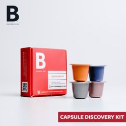 B Coffee Co. Discovery Kit - 4 assorted capsules