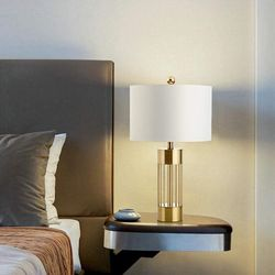 Nora Brass Base Table Lamp
