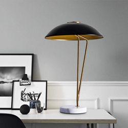 Waverly Retro Lamp with Marble Base