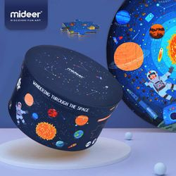 Mideer Wandering Through The Space Round Puzzle (150pcs)