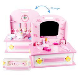 Tots Depot 2 in 1 Kitchen & Dresser Set