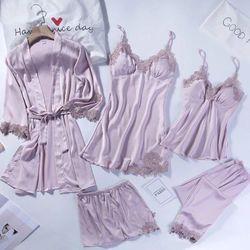 Pershella Stella Silk Robe Sets