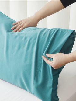 Pershella Premium Bamboo Pillowcases Set of 2 (Blue)