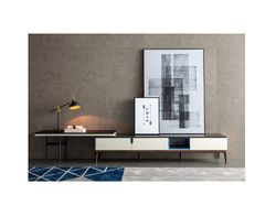 TVC-CBC109D Adjustable Modern Wood TV Stand