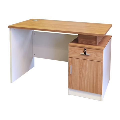 OF-XL1205 wood office computer table with drawer