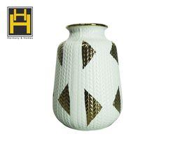 Harmony & Homes Ceramic - Brass Vase (s)