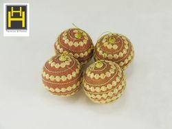 Harmony & Homes 10cm Polyfoam Decorative X-Mas Ball