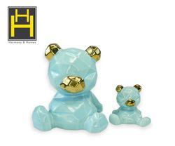 Harmony & Homes Ceramic - Bear figurine (Set of 2)