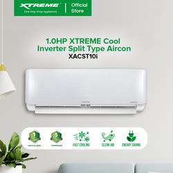 XTREME COOL 1.0HP INVERTER Split Type Aircon (XACST10i)