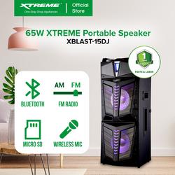 XTREME 65W One Way Portable Speaker System (XBLAST-15DJ)