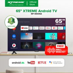 XTREME 65-inch Android 10.0 4K Ultra HD Frameless LED TV (MF-6500SA)