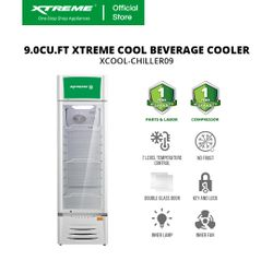 XTREME COOL 9.0CU.FT Beverage Cooler (XCOOL-CHILLER09)