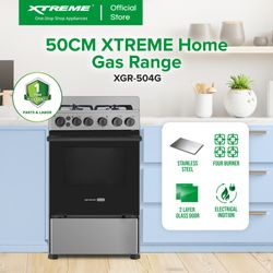 XTREME HOME 50cm Gas range (XGR-504G)