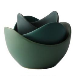 Nesting Lotus Bowls (set of 3)