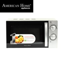 American Home AMW-20MCS Microwave Oven 20L Mechanical Control Color Silver