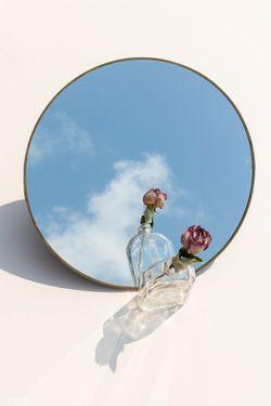 Framed Round Mirror 60cm (PRE ORDER)