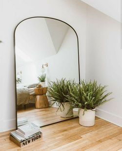 Semi-Arched Framed Mirror  (PRE ORDER)