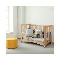 AARON 6 in 1 Convertible Wooden Crib