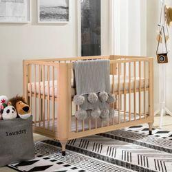 ASPEN 6 in 1 Convertible Wooden Crib
