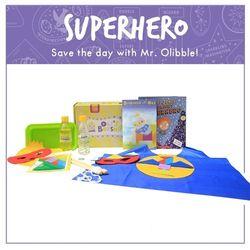 Superhero Boxship Activity Box for Kids