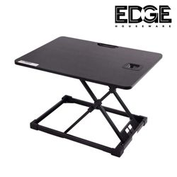 Edge Houseware Height Adjustable Standing Desk Converter, Standing Desk Converter,Sit-Stand Desk Riser with Gas Spring Riser Table for Standing or Sitting Fully Assembled