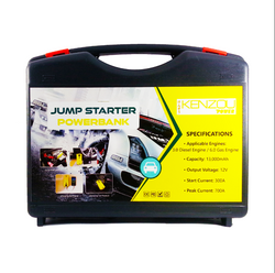 Kenzou Jump Starter Power Bank Kit (13, 000 mAh)