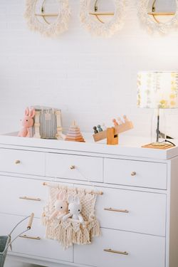 (Pre order) Dresser with Changing Table