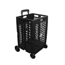 Clever Spaces Foldable Utility Cart - Tall