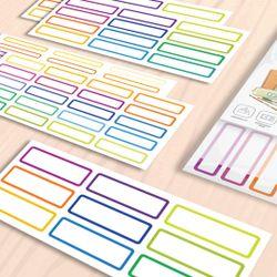 Totsafe Label N Go Write-On Self-Laminating Stickers