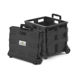 Clever Spaces Foldable Trolley Cart - Regular