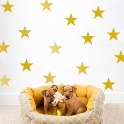 Twinkle Star Peel and Stick DIY Wall Decals 54pcs
